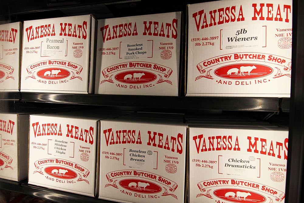 Frozen Meat Boxes at Vanessa Meats