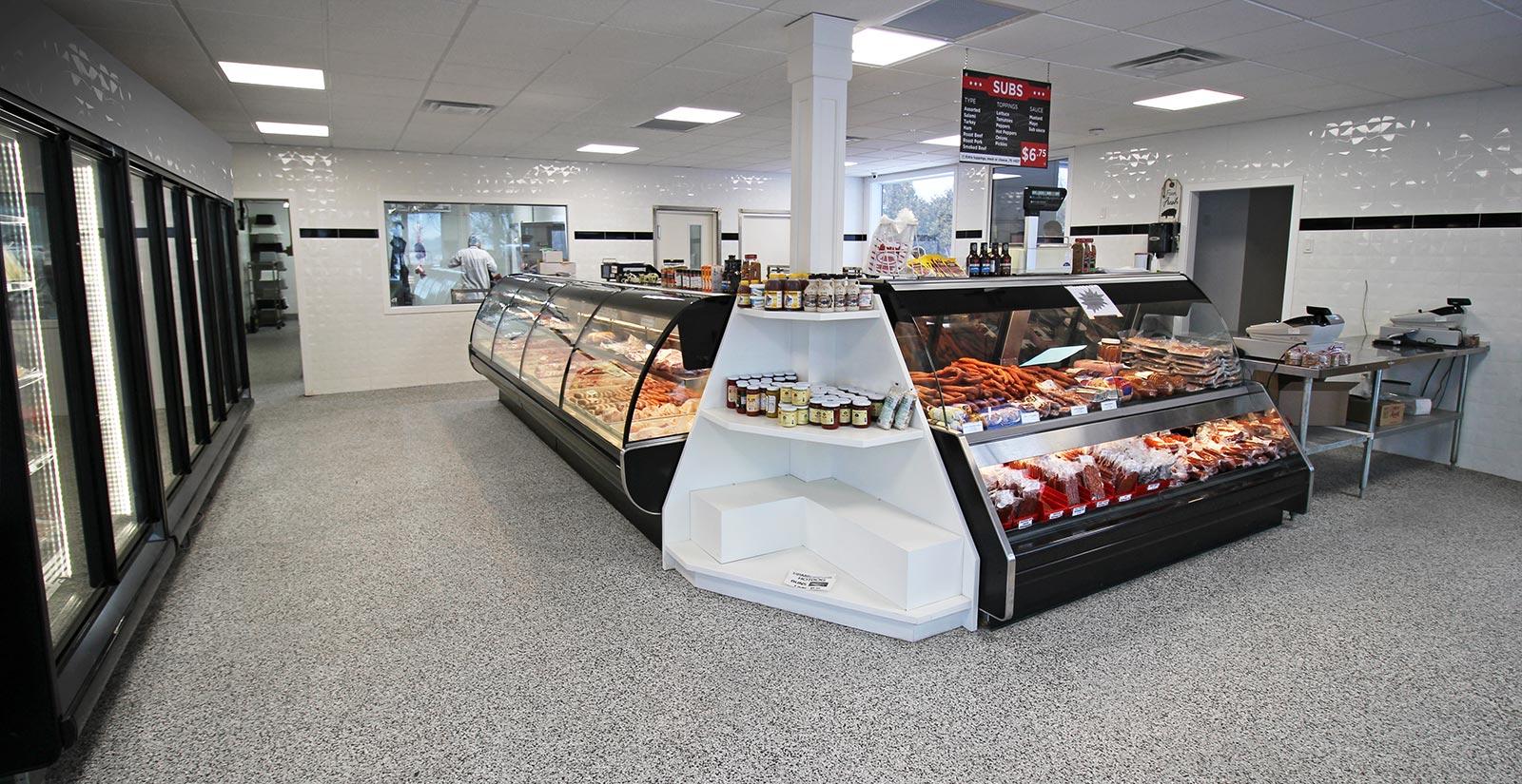 Vanessa Meats Store Interior